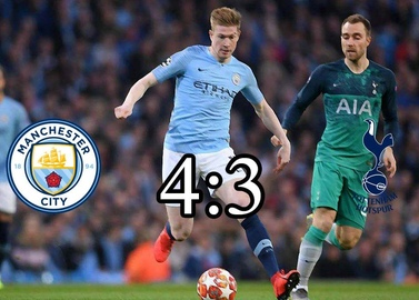 Tottenham are weaker at the Etihad, but it goes in 1/2 UCL
