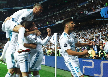 Real Madrid became the first finalist of the Champions League 2017/18