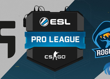 Team Ghost and Rogue will once again perform in Pro League ESL