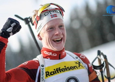 KM biathlon: Johannes Bo again leaves no chance Fourcade in the sprint