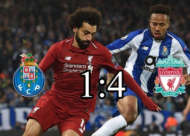 Liverpool didn't leave chances to Porto at the dragão stadium