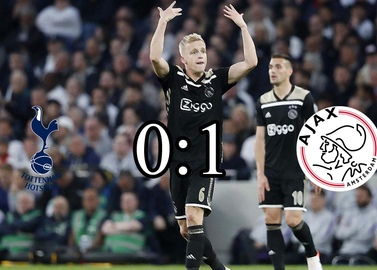 Ajax beat Tottenham away