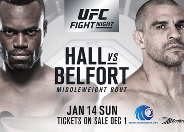 UFC Fight Night 124: Uriah Heep Hall vs Vitor Belfort